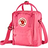 Fjallrave, Kanken Bolsa tiracolo tiracolo para uso diário e viagem, rosa flamingo