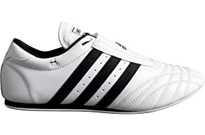 Adidas Martial Arts Shoe, Black w Red Stripes, men's size 10