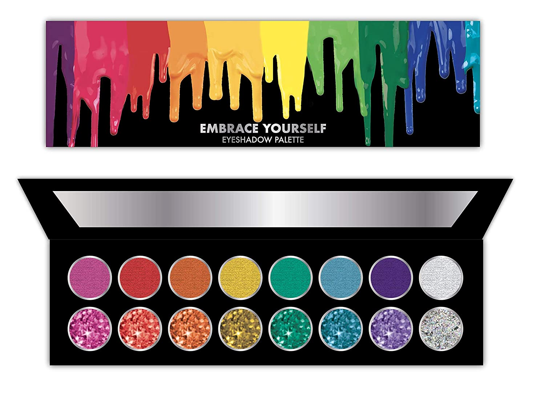Taste Beauty Embrace Yourself! Colorful Eyeshadow Palette