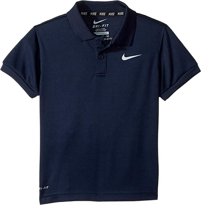 fbd0db81b1a60 Nike Kids Mens Dri-FIT¿ Short Sleeve Polo (Toddler/Little Kids ...
