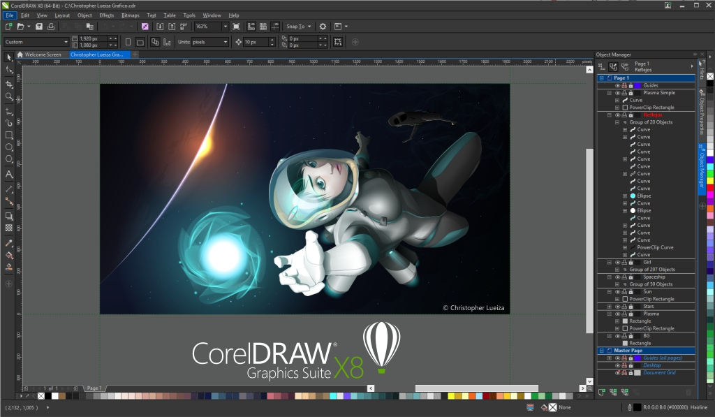 CorelDRAW Graphics Suite X8 - Amazon Exclusive - Includes RAW Photo Editor  [Download] (Old Version)
