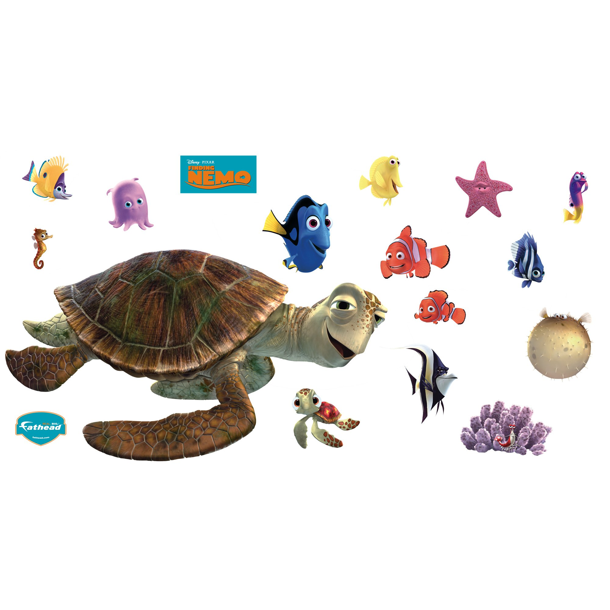 Finding Nemo Nemo & Friends Collection Wall Graphic