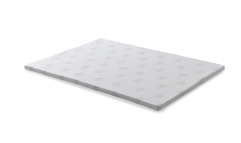 SEASONS Camapolis-Topper viscoelastico de 6cm para cama de 135x190 ...