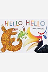 Hello Hello (Books for Preschool and Kindergarten, Poetry Books for Kids) Hardcover