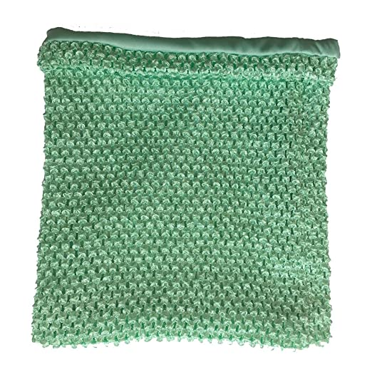 Amazoncom Mint Crochet Tutu Top Lined 12 Inches X 10 Inches