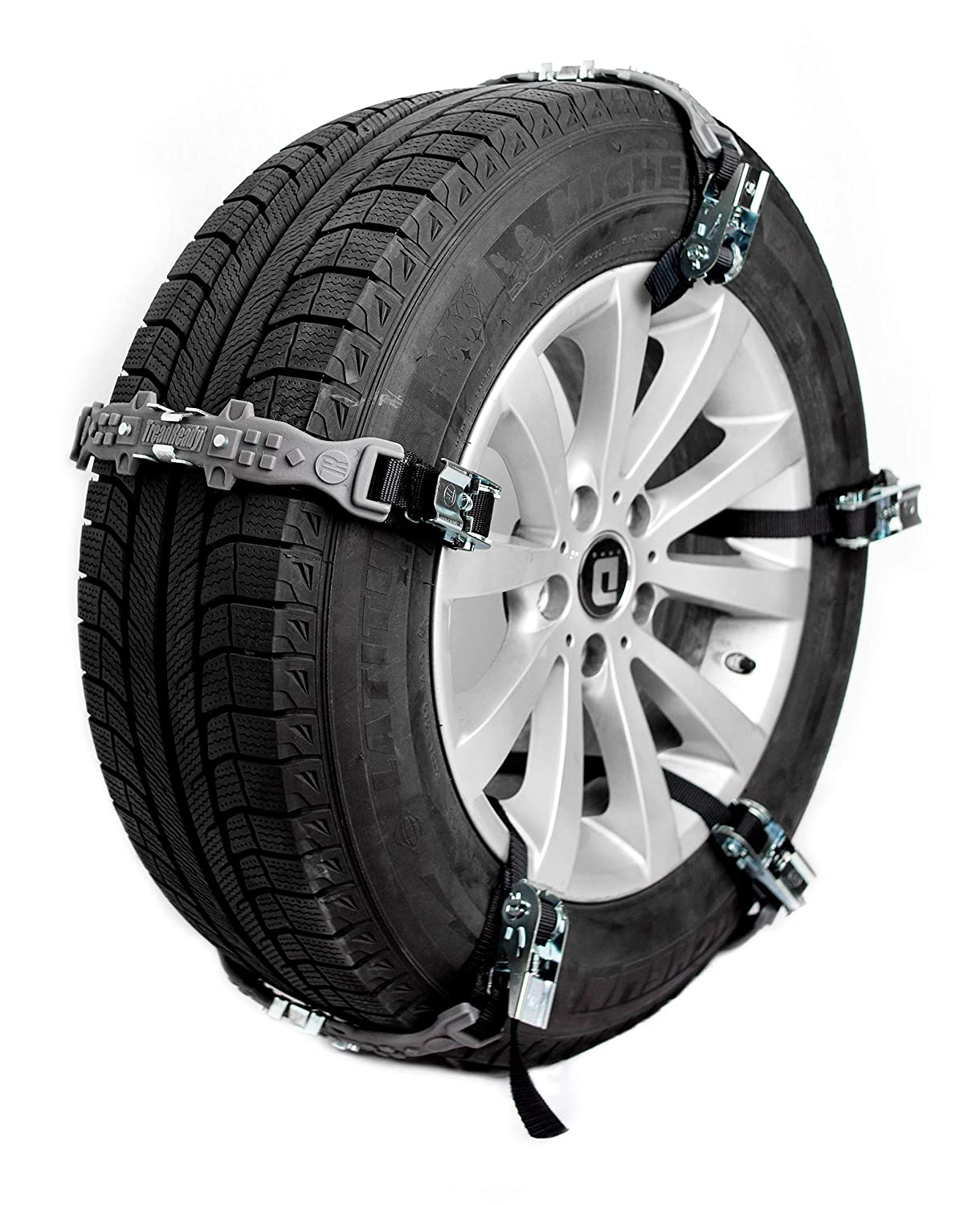 TreadReady Adirondack Strap Easier Than Snow Chains! AS10PG1 Emergency Traction Device for Snow Sand and MUD Pink