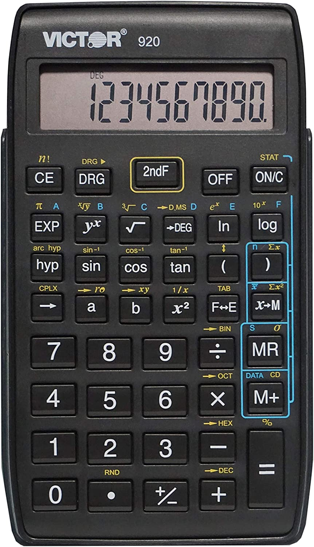 Victor 10-Digit Compact Scientific Calculator