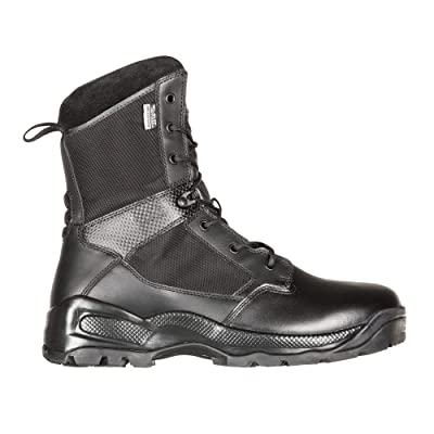 "5.11 Men's ATAC 2.0 8"" Tactical Storm Military Boot, Style 12392, Black: Shoes"