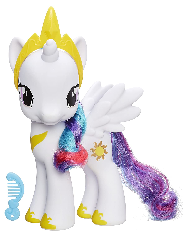 amazoncom my little pony princess celestia 8 figure toys games