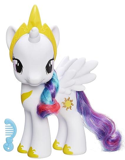 Amazon Com My Little Pony Princess Celestia 8 Figure Toys Games