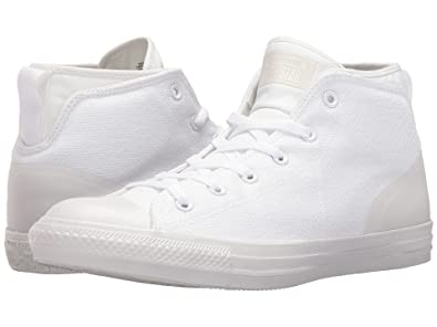 Converse Chuck Taylor All Star Syde Street Men/'s Shoes White//White 155490C