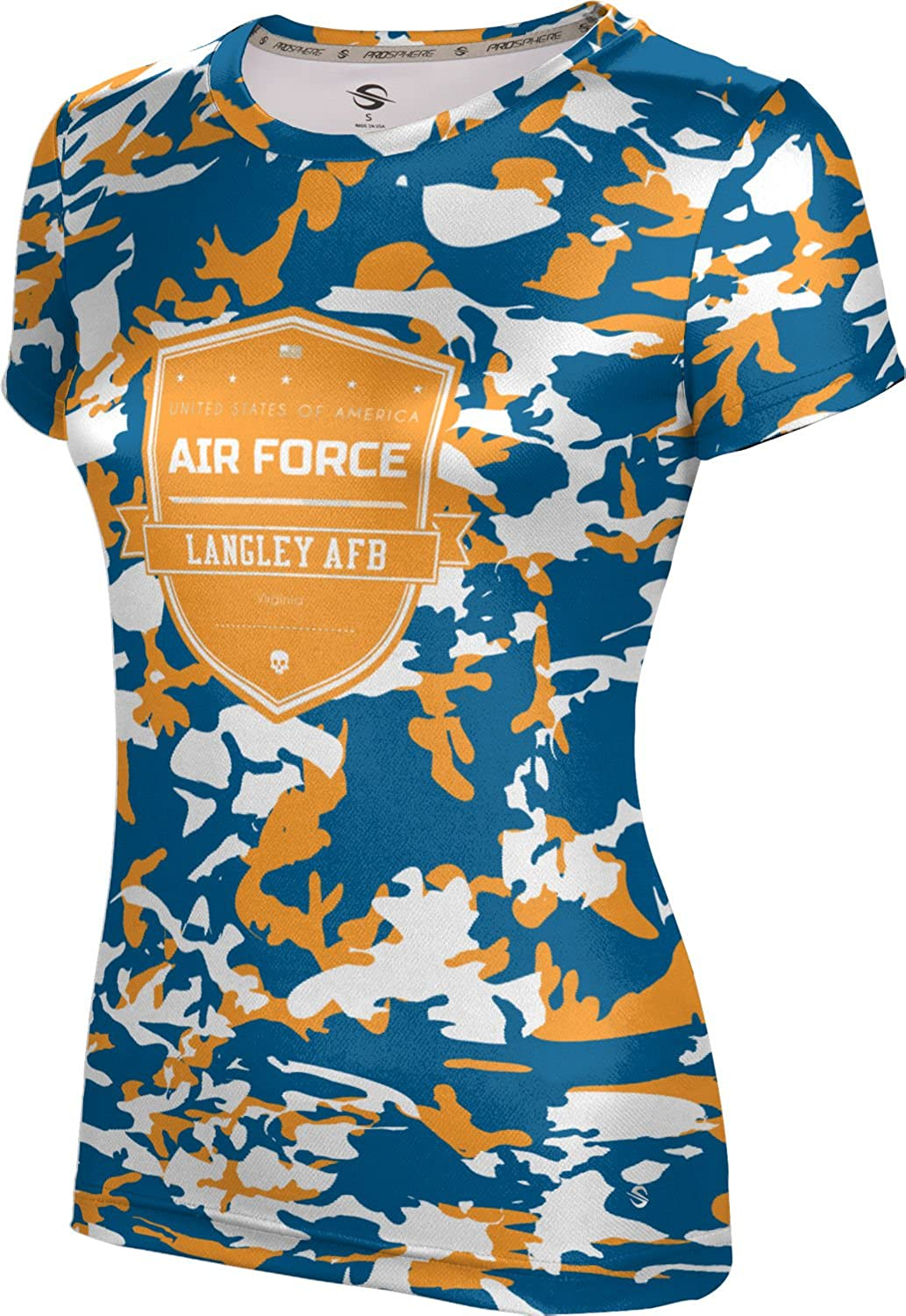 ProSphere Women's Langley AFB Military Camo Tech Tee