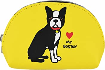 Marc Tetro Boston Terrier Mini Cosmetic Bag