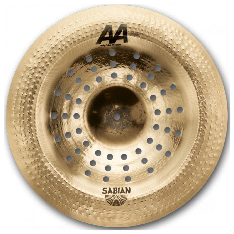 Sabian 17'' AA Holy China Cymbal Natural 21716CS