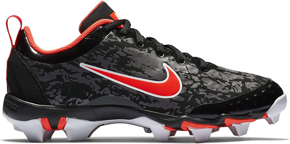 75a21ab4c Nike Kids Hyperdiamond 2.5 Keystone Baseball Cleat Black White Persian  Violet Infrared Size. Back. Double-tap to zoom
