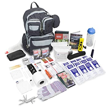 Emergency Zone Urban Survival 72-Hour Bug Out/Go Bag Survival Kit    Discrete and Non-Tactical   Prepare for Hurricanes, Earthquakes, Wildfire,  Floods,