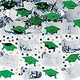 Green Mixed Grad Confetti