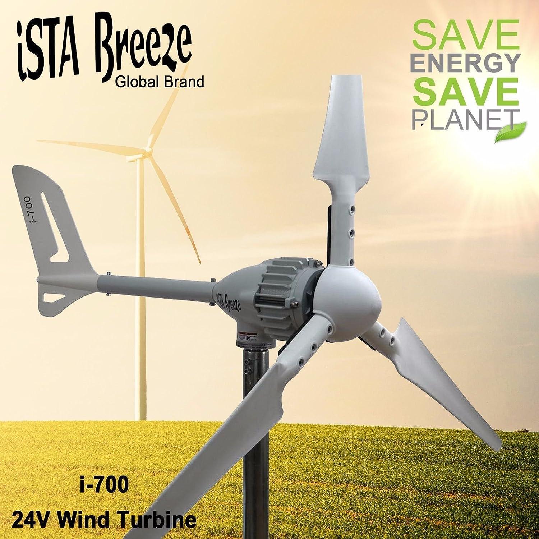 700W viento generador 12V/24/48V Modelo Generador de 700Wind I, ISTA de Breeze® Aerogenerador, Wind Turbine, 24.00V