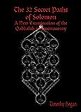 The 32 Secret Paths of Solomon (English Edition)