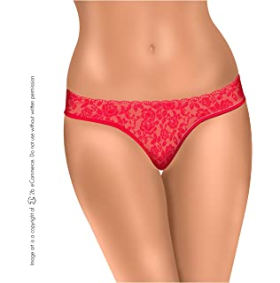 Amawi 1034 Lace Lingerie V-String Sexy Undies Panty for Women Ropa Intima Mujer