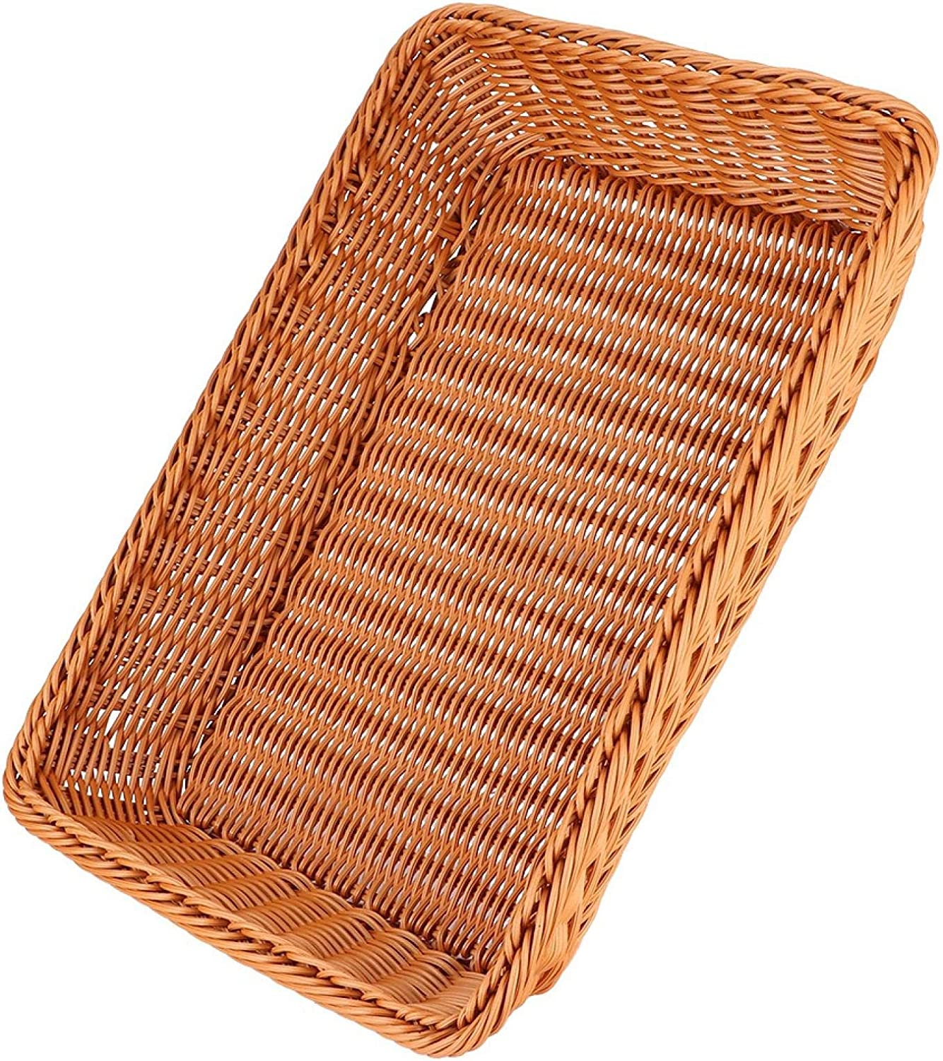 Xiangxin Fruit Basket, Storage Basket, Leak Proof Keep Secure Light Easy to Carry for Home Kitchen Everyday Use Housewife(Coffee Queen)