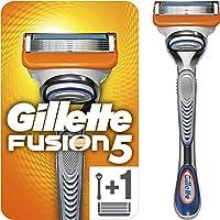Gillette Fusion 5 golarka męska z trymerem do precyzyjnego i pokrycia ślizgowego, golarka + 1 ostrze do golenia
