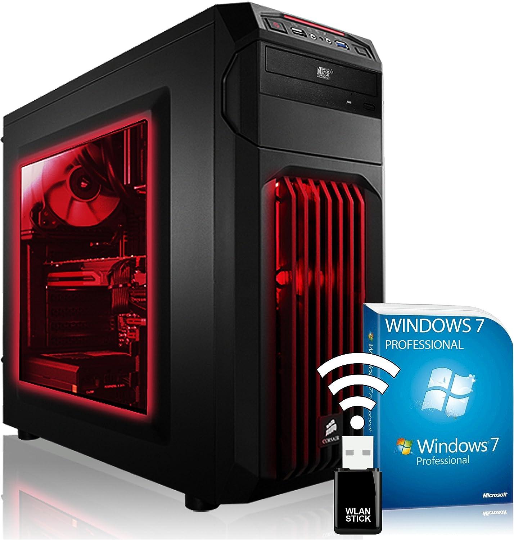 AGANDO Extreme Gaming PC multicolor GeForce GTX1080 8GB AMD FX ...