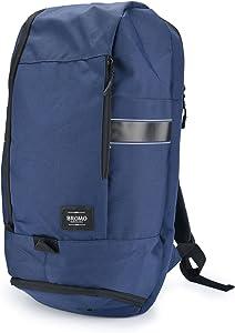 BROMO BARCELONA - Sport Backpack Laptop Case 15 inch - Training Gym Bag - Water Resistant - Multi-Pocket - Blue