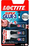 Loctite Super Glue-3 Power Flex Mini Trio - Adhesivo 3x1gr