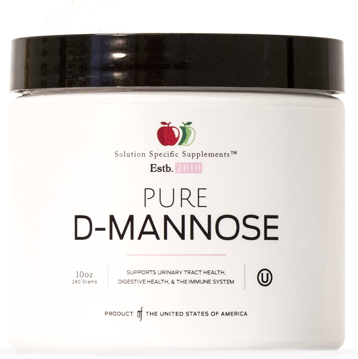 Pure D-Mannose Powder Supplement - Bulk D-Mannose 10oz (283 g) 120 Servings for UTI, Bladder, Urinary Tract Health: Health & Personal Care
