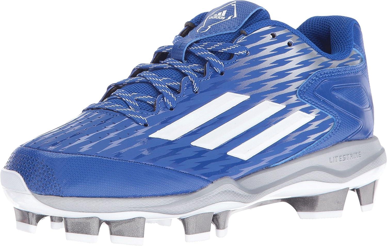 adidas Performance Women's PowerAlley 3 W Thermoplastic Polyurethane Softball Cleat PowerAlley 3 W TPU-W