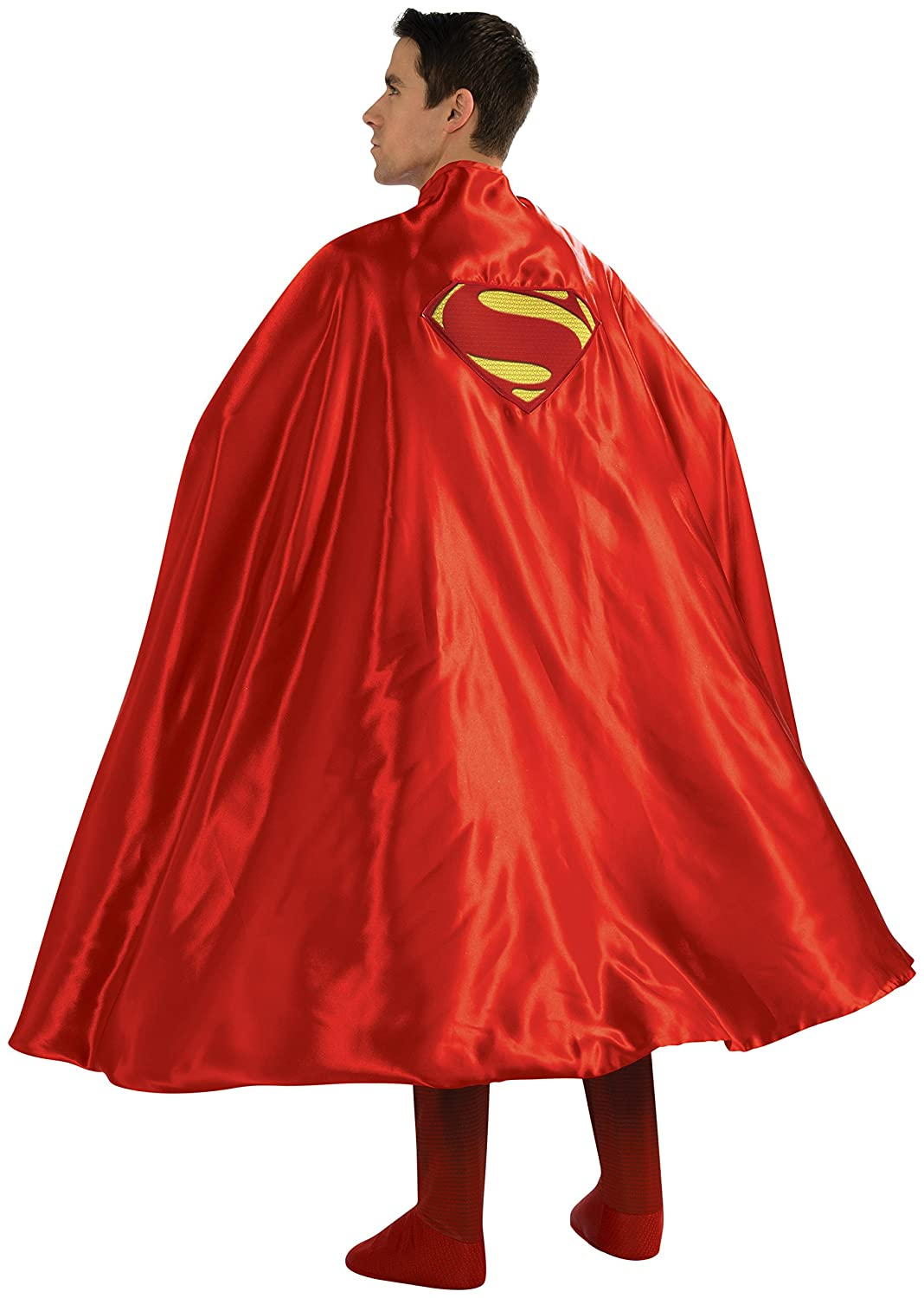 DC Universe SUPERMAN Red Mask and Cape Set New Super Man Cosplay Costume