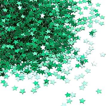dfe63a53c27b Amazon.com  Star Confetti - 7-Ounce Metallic Glitter Confetti
