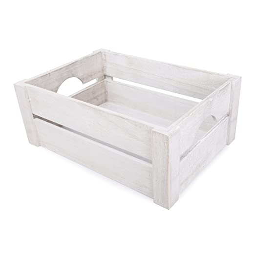 White wooden apple crates display plants fruits storage easter white wooden apple crates display plants fruits storage easter gift hamper 2 x medium negle Choice Image