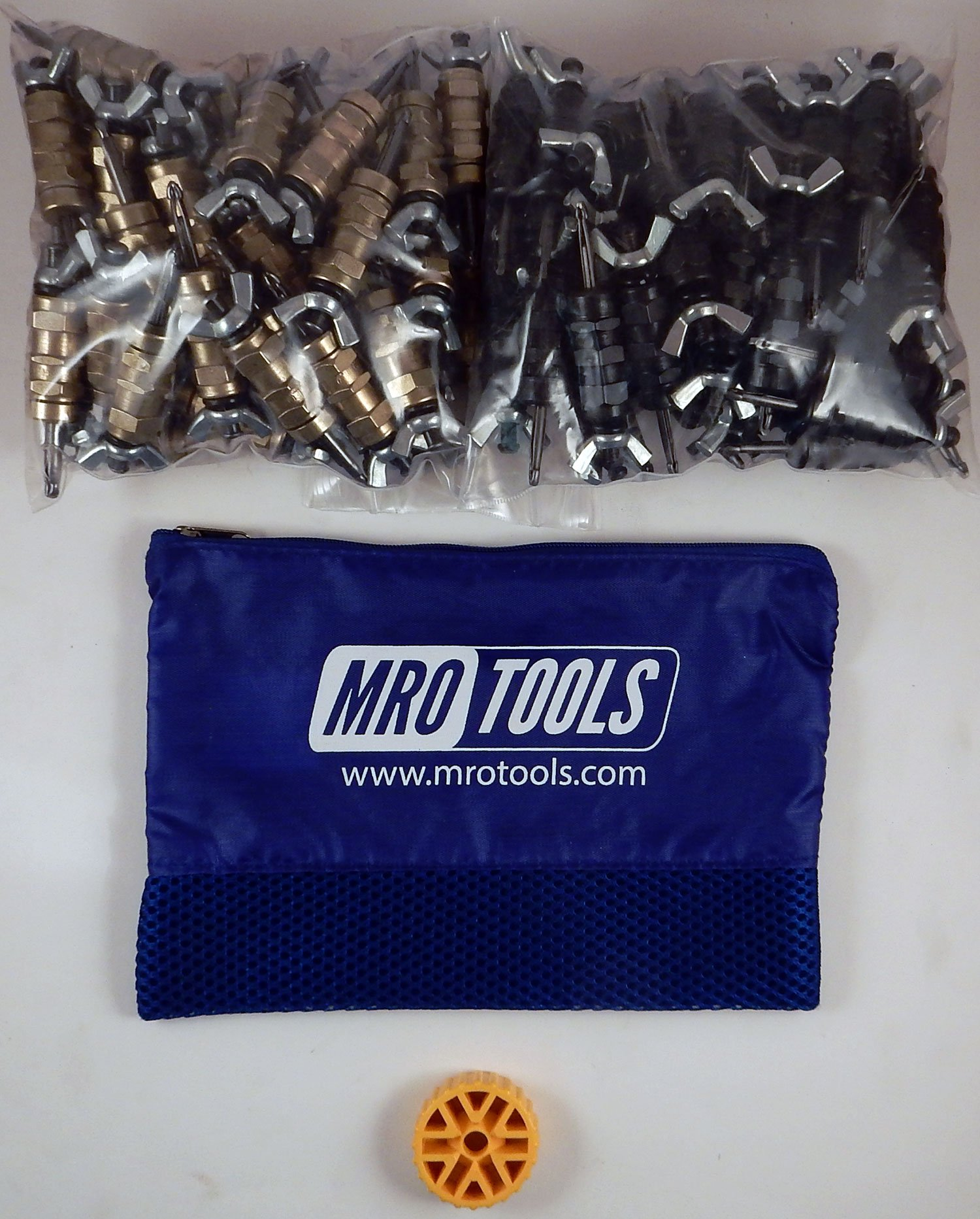 50 3/16 & 50 5/32 Standard Wing-Nut Cleco Fastener HBHT Tool & Bag (KWN4S100-4) by MRO Tools Cleco Fasteners