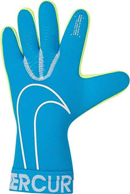 material Sumergir Tío o señor  Amazon.com : Nike Goalkeeper Mercurial Touch Victory Gloves - Blue-White 11  : Sports & Outdoors