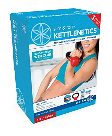 Gaiam Kettlenetics Slim Tone