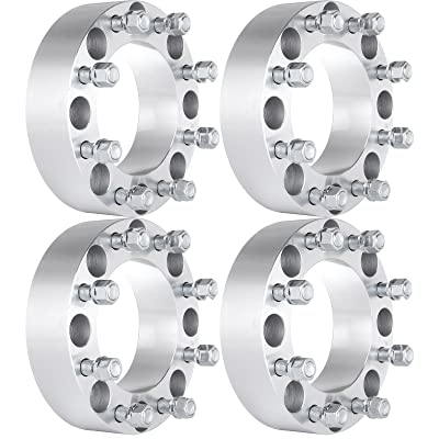 ECCPP 2 inch Wheel Spacers Adapters 8 lug 8x170mm to 8x170mm 125mm Fits for Ford Excursion Ford F250 Ford F350 with 14x1.5 Studs: Automotive