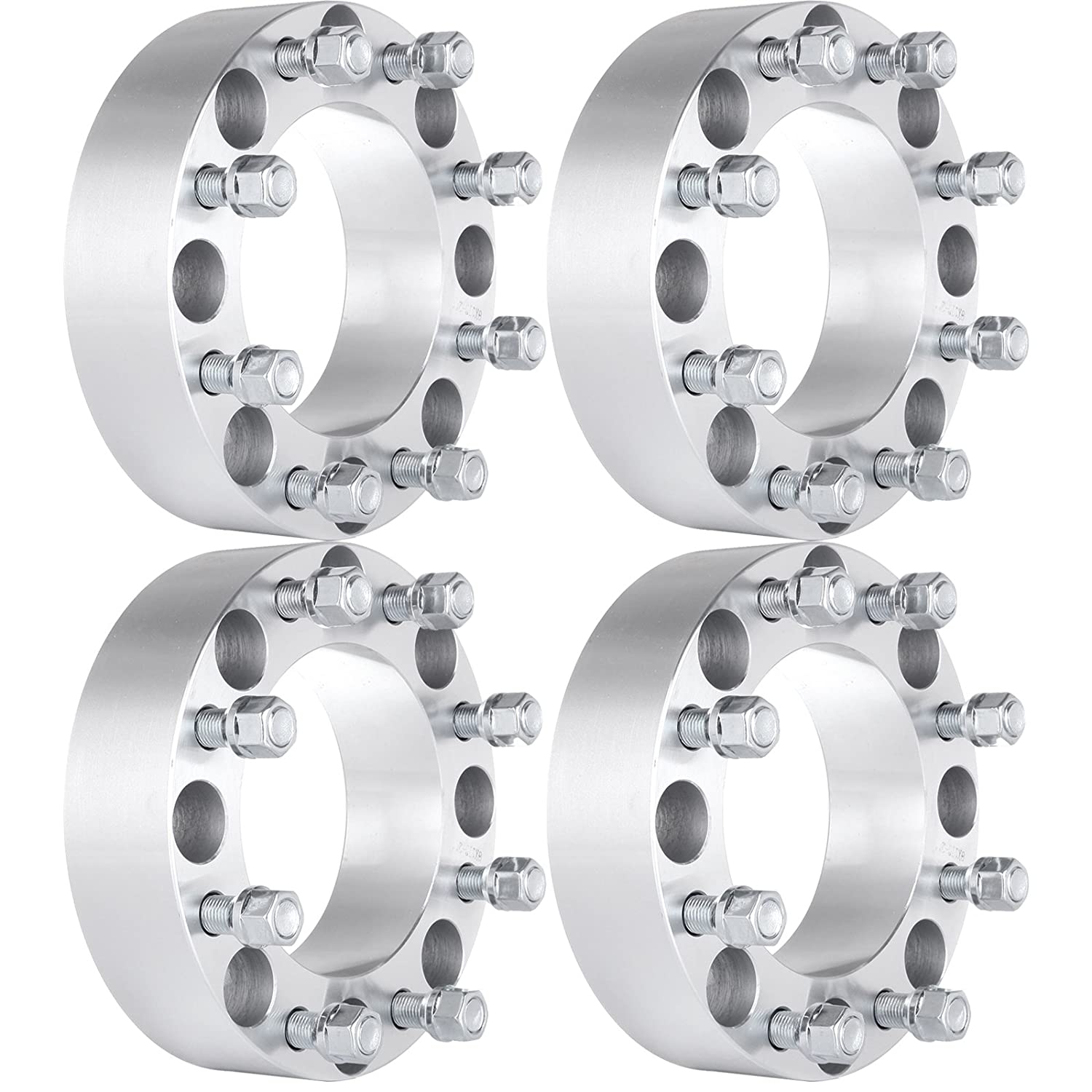 ECCPP 2 inch 8x170mm 14x1.5 Studs Wheel Spacers 8x170 to 8x170 125mm Compatible with Ford Excursion F250 F350 Super Duty