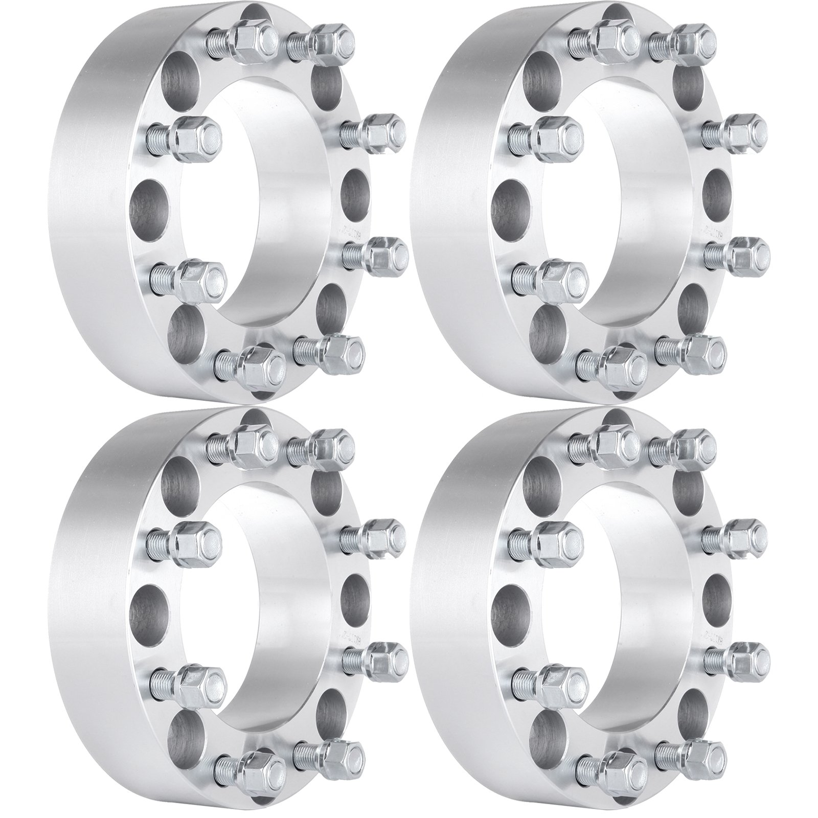 ECCPP Wheel Spacers 8 Lugs 4 PCS 2 Inch 50mm Thick 8x170 to 8x170 125mm CB for 2003-2015 Ford F-250 Super Duty F-350 Super Duty