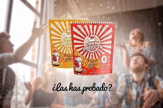 Máquina de Palomitas Corn Poppets Machine Promoción dos packs de maíz con sabor: Amazon.es: Alimentación y bebidas