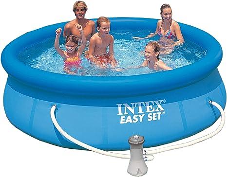 Piscina Easy set Intex 305 cm x 76 cm: Amazon.es: Juguetes y juegos