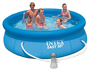 Piscina Easy set Intex 305 cm x 76 cm: Amazon.es: Juguetes y ...