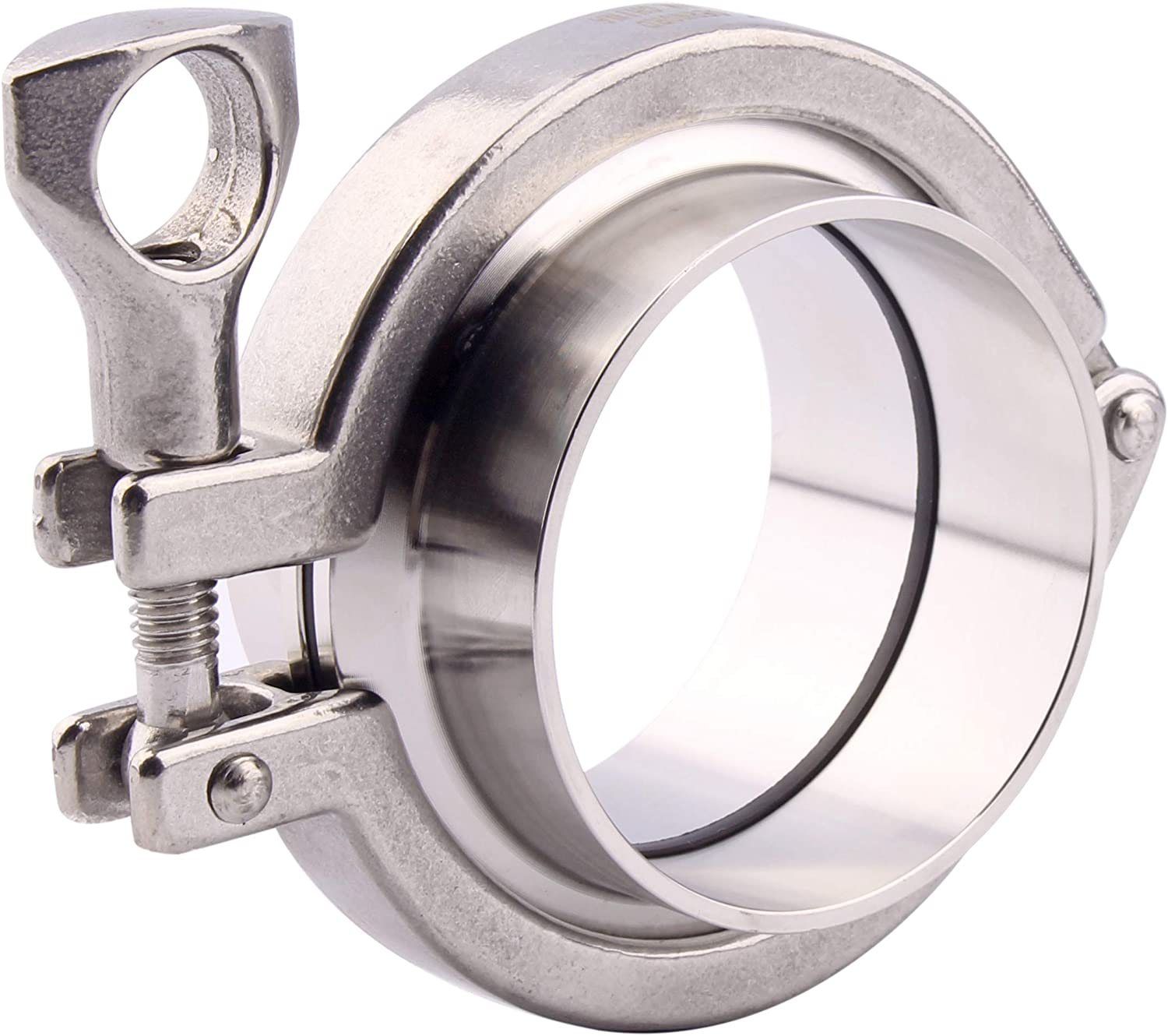 Tube OD: 6 DERNORD Stainless Steel Sanitary Clamp Single Pin Tri Clamps Clover