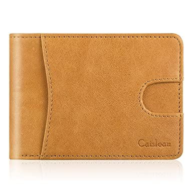 Amazon.com: Caislean Minimalist - Carteras de billetera con ...