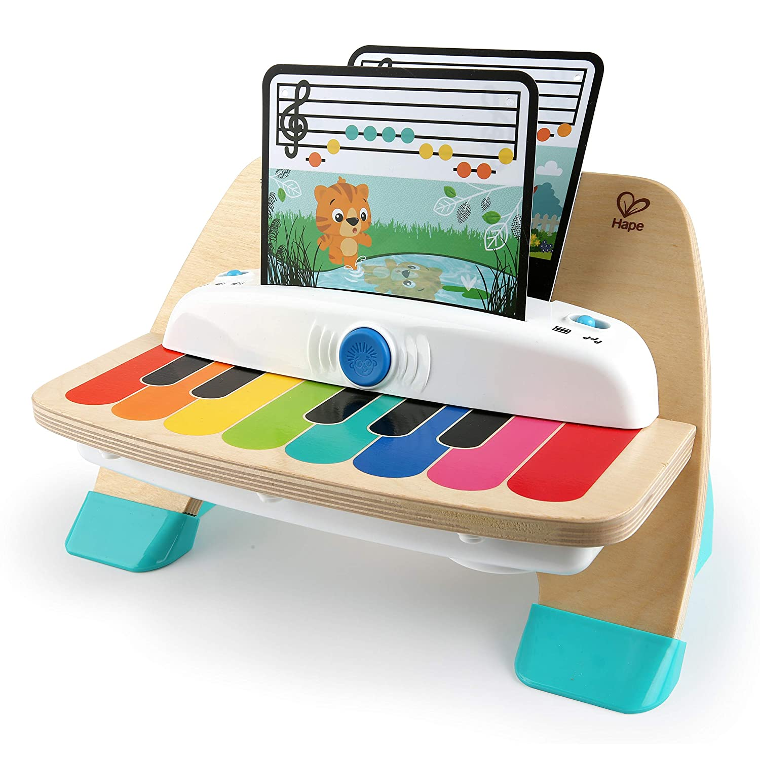 11649-6 Ages 12 months and up Kids II - Baby Einstein Magic Touch Piano Wooden Musical Toy Toddler Toy Carson CA