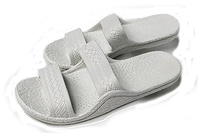 7377ef298 Kali Footwear Women s Jesus Hawaii Open Toe Double Strap Hawaiian Sandals  Simple(White