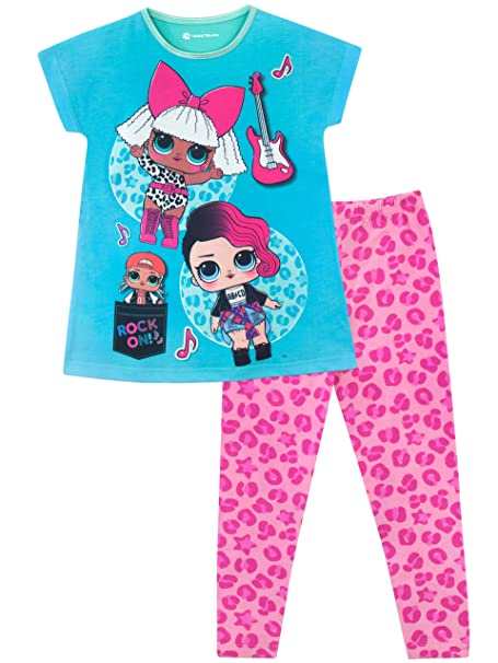 Lol Surprise Pijama para niñas Diva y Rocker: Amazon.es: Ropa y accesorios