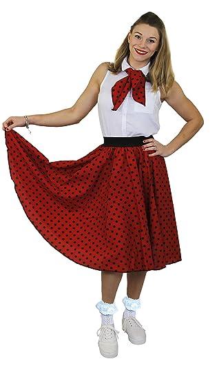 I Love Fancy Dress ilfd4518os Mesdames con falda larga para ...