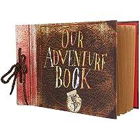 Vienrose Our Adventure Book Álbum de Fotos Libro de Recuerdos Bricolaje Álbum de Recortes Hecho A Mano Libro de…